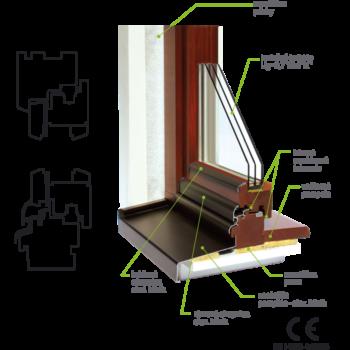 Okno profil 78